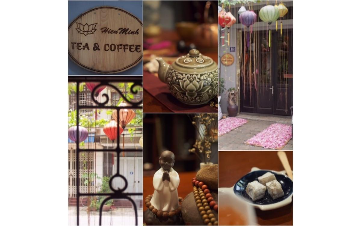 蓮茶作り体験 ~ Hien Minh tea & coffee house~